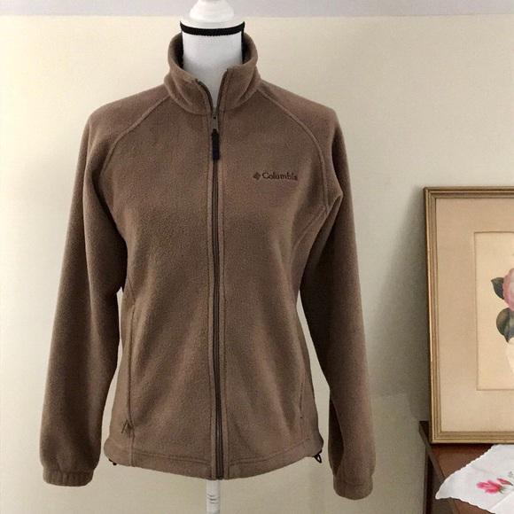 e3fedacc53a Columbia Women's Three Lakes Fleece Jacket Beige
